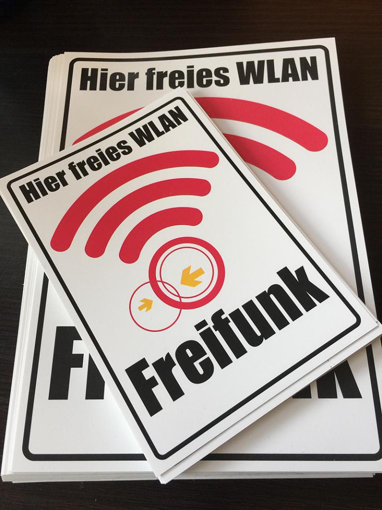 Freifunk-Sticker